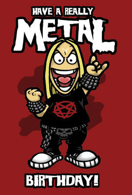 metal birthday
