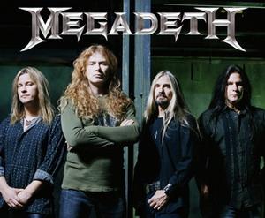 Megadeth в Москве