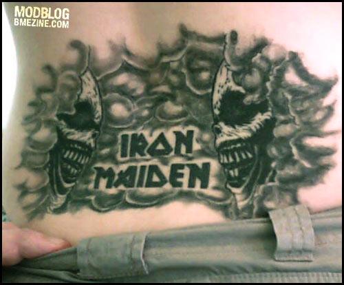 Татуировки Iron Maiden