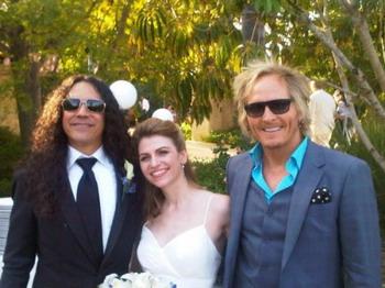 Свадебное фото басиста ALICE IN CHAINS