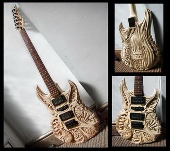 Гитары из дерева