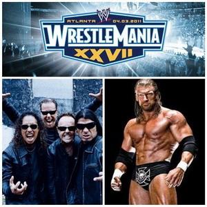 Triple H и METALLICA