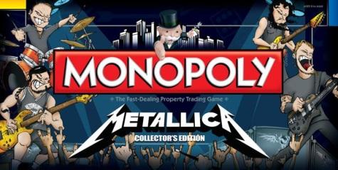 METALLICA в игре «Монополия»
