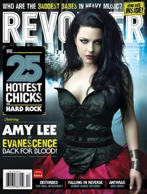 Эми Ли в журнале Revolver
