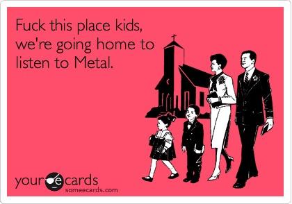 Слушайте метал