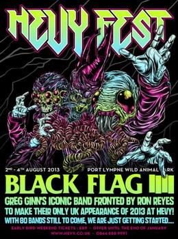 BLACK FLAG на Hevy Fest