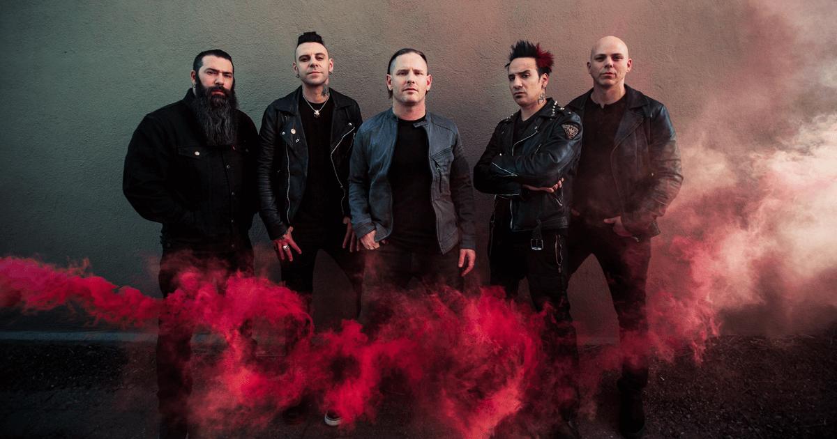 Концерт Stone Sour в Киеве 18 ноября 2018